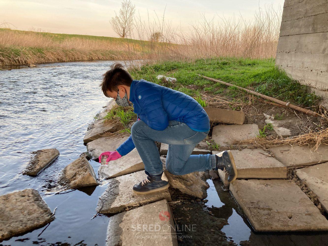 Je voda v Trnávke čistá? Autor: Lucia Klučárová